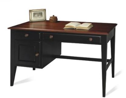 Picture of Antique Black Writing Desk
