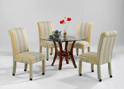 Picture of Dining Chair With Casters