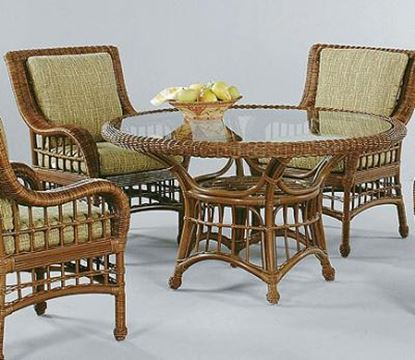 Picture of LaCosta Wicker Dining Table
