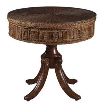 Picture of Seagrass Drum Table