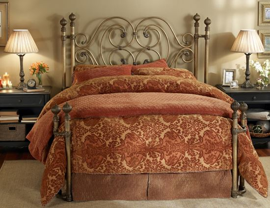 Picture of Alhambra Aged Brass Bed