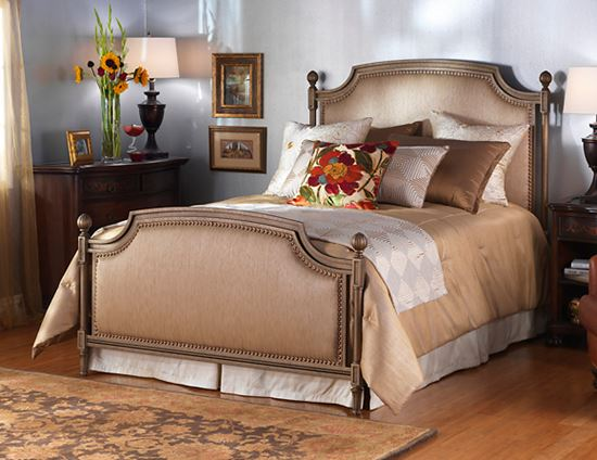 Picture of Garnett Panel Bed