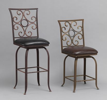 Picture of Glen Leather Barstools