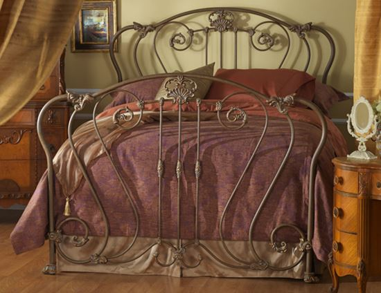 Picture of Hamden Antique Reproduction Bed