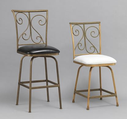 Picture of Hillcrest Leather Barstools