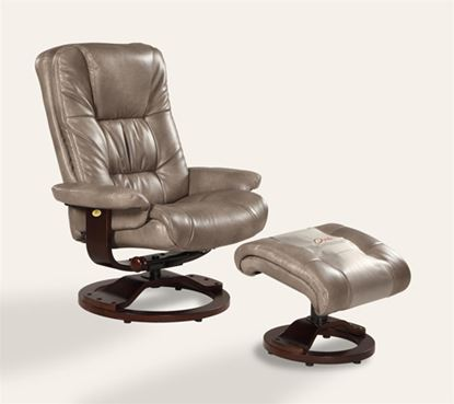 Picture of RECLINER CLOUD BONDED LEATHER ALPINE FINISH