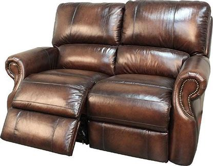 Picture of Hawthorne Brown Wipe Loveseat
