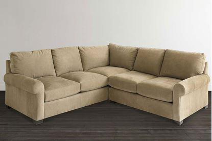 Picture of Scarborough Leather L-Shaped Sectional