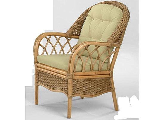 Picture of Everglades Wicker Arm Chair