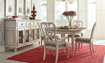 Southbury Casual Dining collection with Round Dining Table