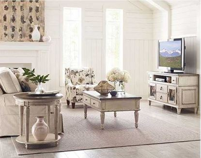 Southbury Living Room with occasional tables