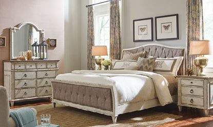 Southbury Bedroom Collection with Upholstered Bed