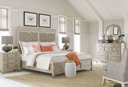 Vista Bedroom Collection with the Altamonte Panel Bed