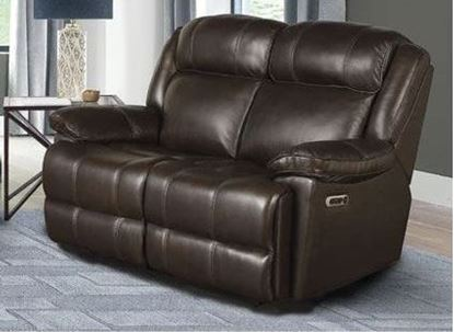 Eclipse - FLORENCE BROWN Power Loveseat (MECL#822PH-FBR)