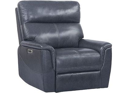 REED Power Recliner - MREE#812PHL with Indigo Leather