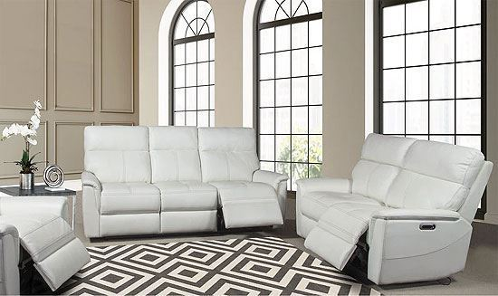 REED Power Collection - MREE-321PHL with Pure White Leather