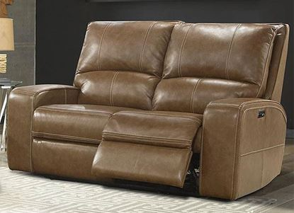 Swift Power Loveseat - MSWI#822PH (with Bourbon Leather) by Parker House furniture