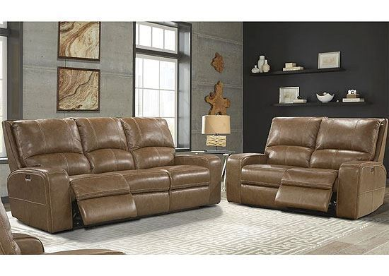 SWIFT - Power Reclining Collection MSWI-321PH with a Bourbon leather by Parker House furniture