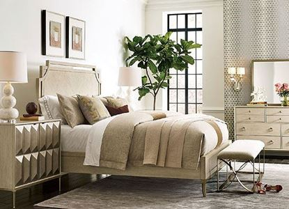 Lenox Bedroom Collection with Royce Panel Bed by American Drew furniture