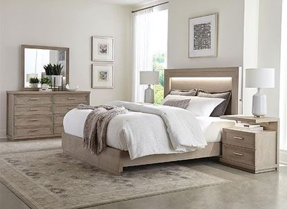 Cascade Bedroom Collection  with Upholstered Bed by Riverside furniture