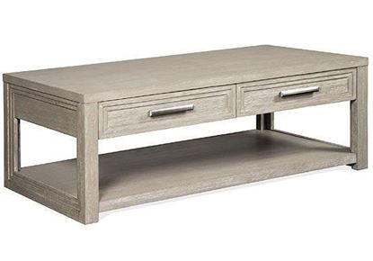 Cascade Rectangular Coffee Table - 73402 by Riverside furniture