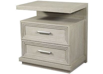 Cascade Two Drawer Nightstand 73469 by Riverside furniture