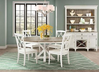 Myra Dining Collection with Round Dining Table by Riverside furniture