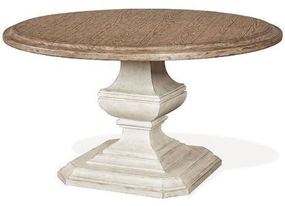 """Picture of Elizabeth 70"""" Round Dining Table  (71653-71943)"""