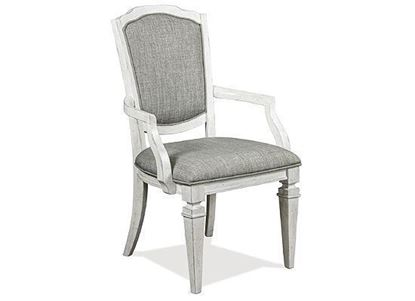 Picture of Elizabeth Upholstered Dining Arm Chair - 71657