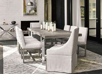 Modern Formal Dining Collection with the Desmond Dining Table