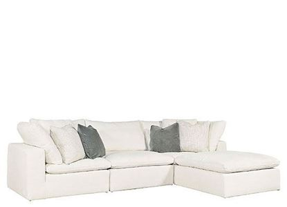 MODERN Collection: Palmer Sectional -4 piece 681541R-825